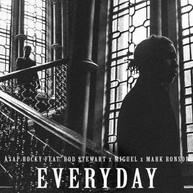 A$AP Rocky feat. Rod Stewart, Miguel, Mark Ronson - Everyday