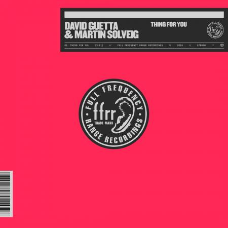 David Guetta - & Martin Solveig - Thing For You