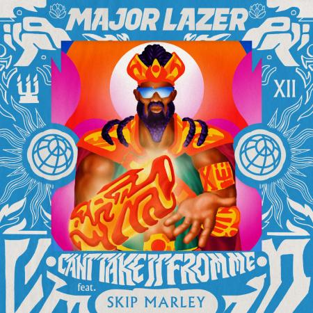 Major Lazer - feat. Skip Marley - Cant Take It From Me